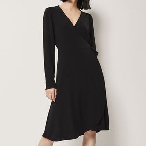 Massimo Dutti Crossover Crepe Dress (Brand New!)